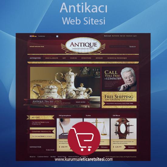 Antikacı Web Sitesi