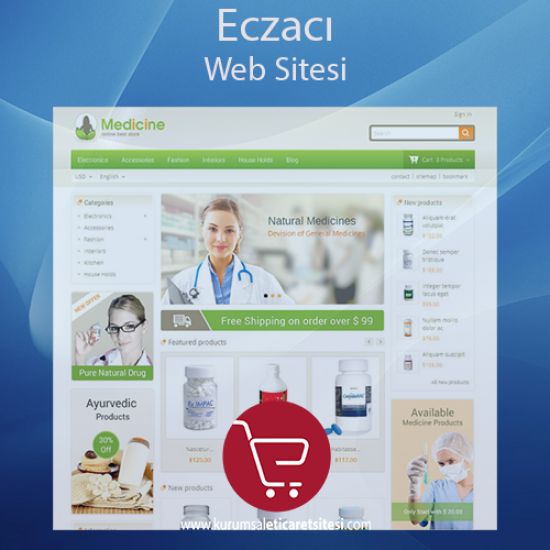 Eczane Web Sitesi