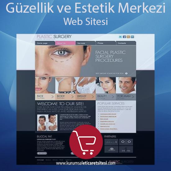 Güzellik ve Estetik Merkezi Web Sitesi