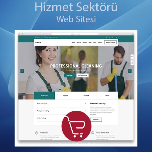 Hizmet Sektörü Web Sitesi