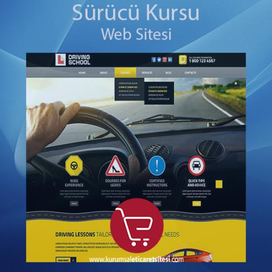 Sürücü Kursu Web Sitesi