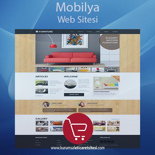 Mobilya Sektörü Web Sitesi