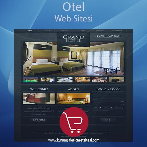Otel Sektörü Web Sitesi