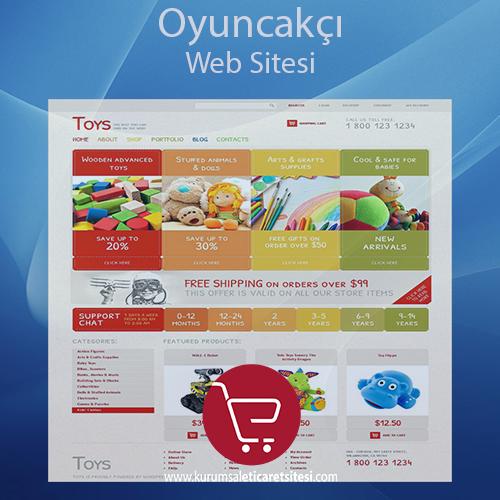 Oyuncakcı Web Sitesi