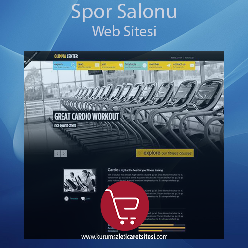 Spor Salonu Web Sitesi