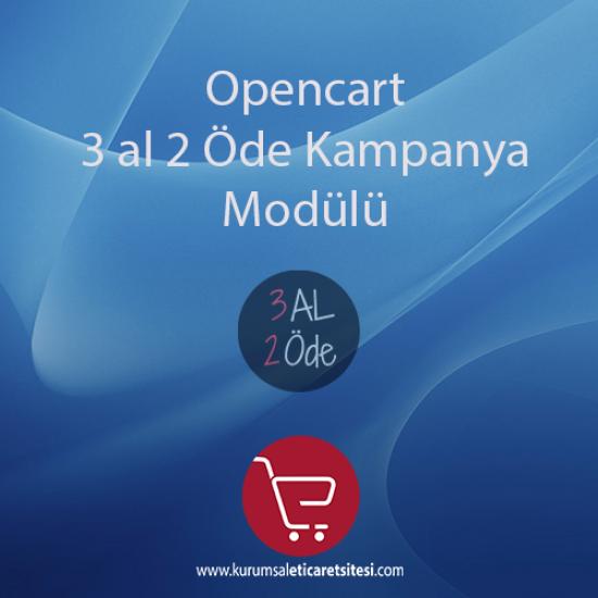 Opencart 3 Al 2 Öde Kampanya Modülü