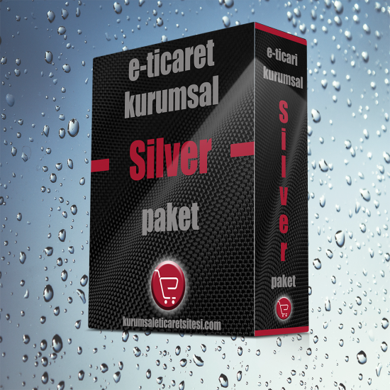 Kurumsal E-Ticaret (Opencart) Web Silver