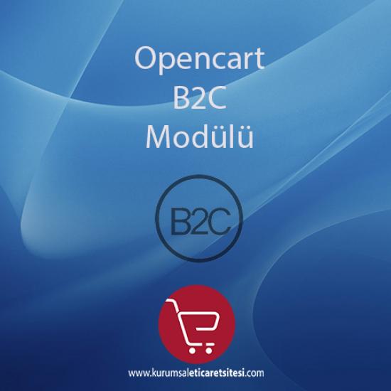 Opencart B2C Modülü