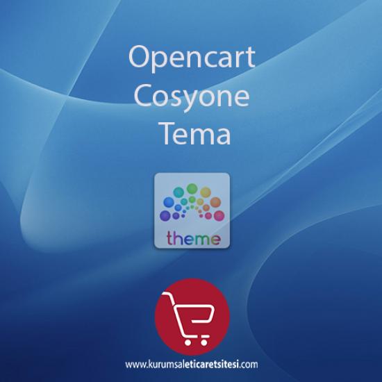 Opencart Cosyone Tema
