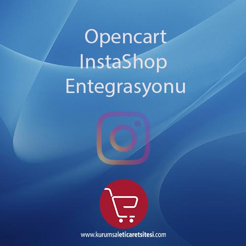 Opencart InstaShop Entegrasyonu