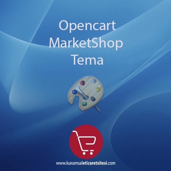 Opencart MarketShop Tema