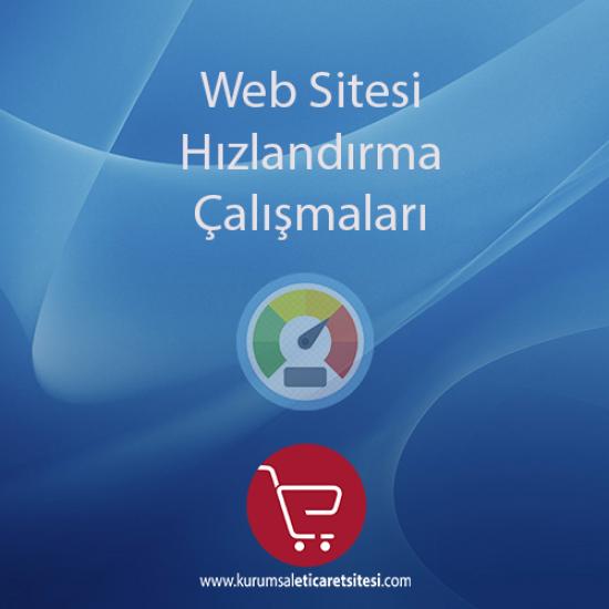Web Sitesi Hızlandırma Çalışmaları